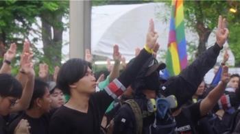 泰國反政府示威升級 擬總理府外紮營長期抗戰