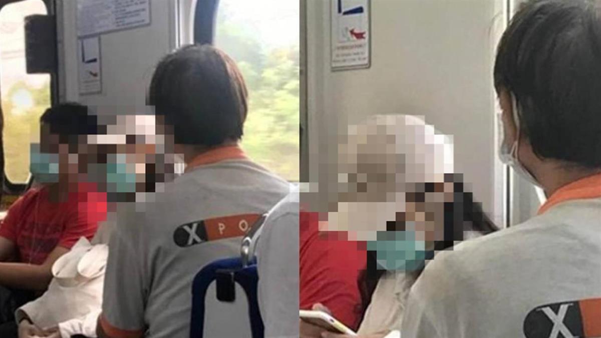 搭火車阿伯狂弄「超不自然動作」 妹仔崩喊:以後都要穿長褲啦