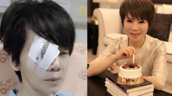 陳雅琳眼睛像玻璃碎掉!剩1眼苦撐 醫見嚴重情況氣炸大罵