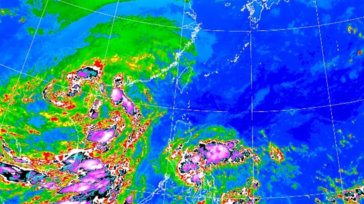 南卡前腳剛走!第17號颱風發展中 降雨時間出爐