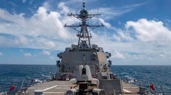 美國軍艦今年第10度航經台灣海峽 國軍全程掌握
