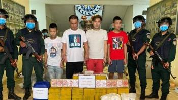 台人柬埔寨販毒遭逮!4落網、1逃跑墜樓亡 搜出3噸毒品