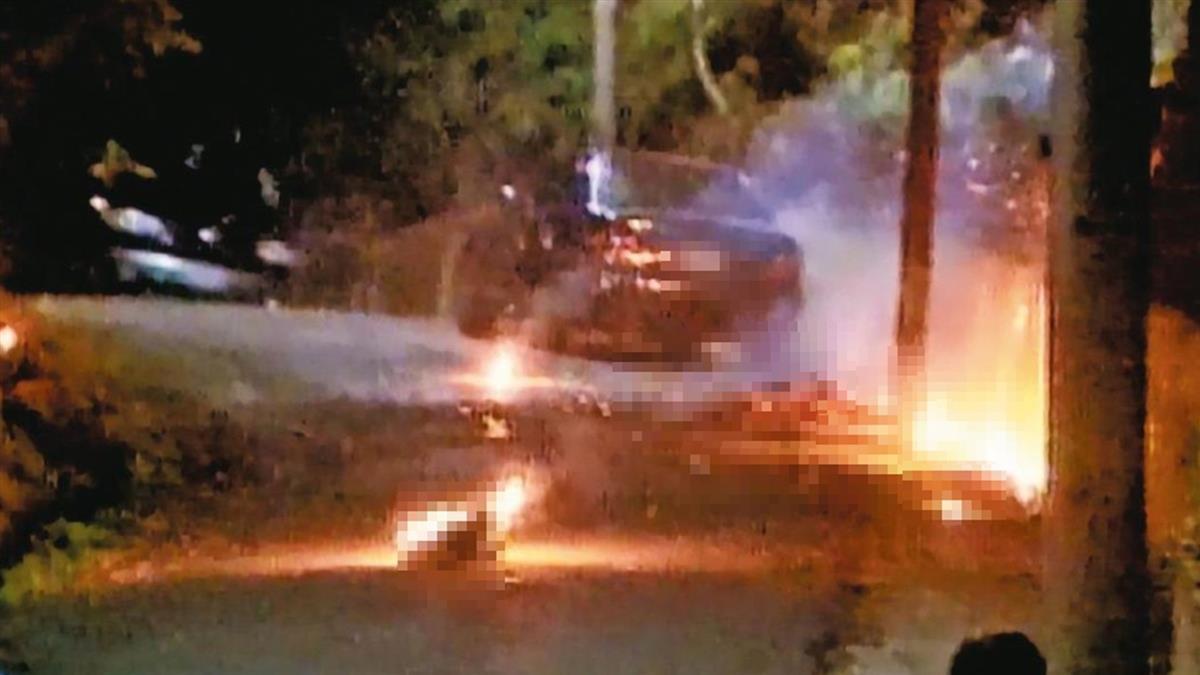 人肉炸彈嗆「數50聲給你們逃」 記者、警察回頭只見驚天火球