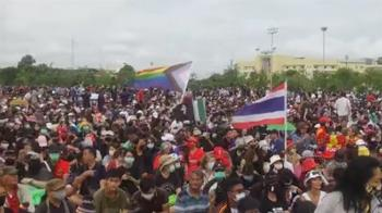泰國反政府示威落幕了?抗議者佔鬧區路口 晚間和平散場