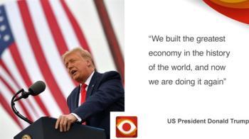 美國大選前,六張圖幫你看懂川普任期內的國民經濟