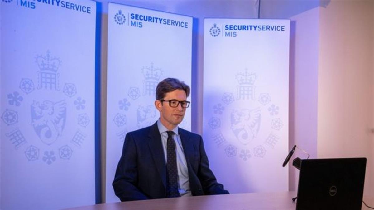 英國軍情五處新處長首次公開講話 稱中國威脅愈發嚴重覆雜