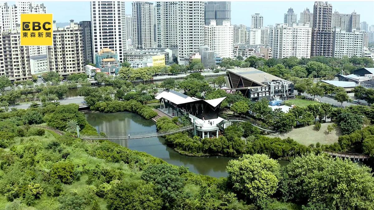 台灣唯一!市中心的生態公園 首排燙金輕豪宅曝