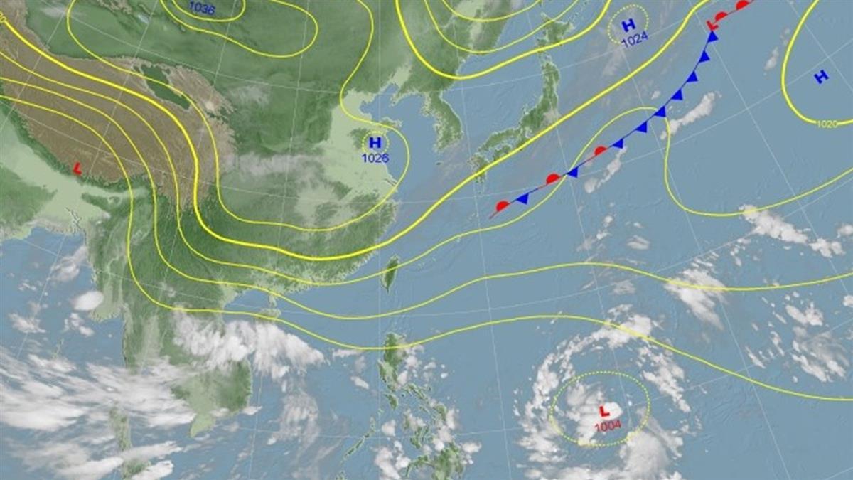 新颱風恐生成!連下雨10天轉濕涼 全台降雨熱區出爐