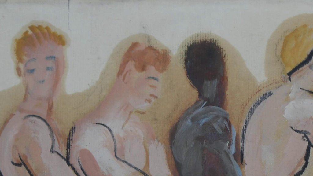 同性戀情愛畫揭示英國酷兒歷史