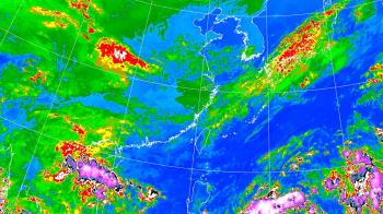 4縣市大雨特報!東北風雨彈炸整周 準颱風預測路徑出爐