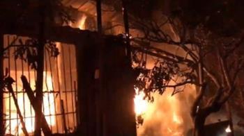 快訊/嘉義鐵皮屋大火 85歲獨居老翁燒成焦屍
