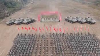 解放軍曬誓師畫面!出征目標全馬賽克惹關注