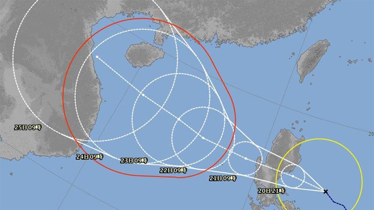快訊/沙德爾颱風形成!這3天防共伴效應雨彈 最新路徑出爐
