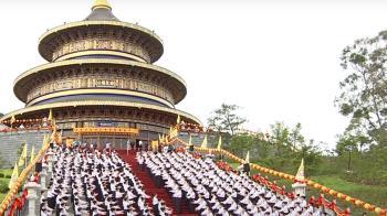 霧峰一貫道廟宇落成 超越北京天壇 圓頂建築吸睛!