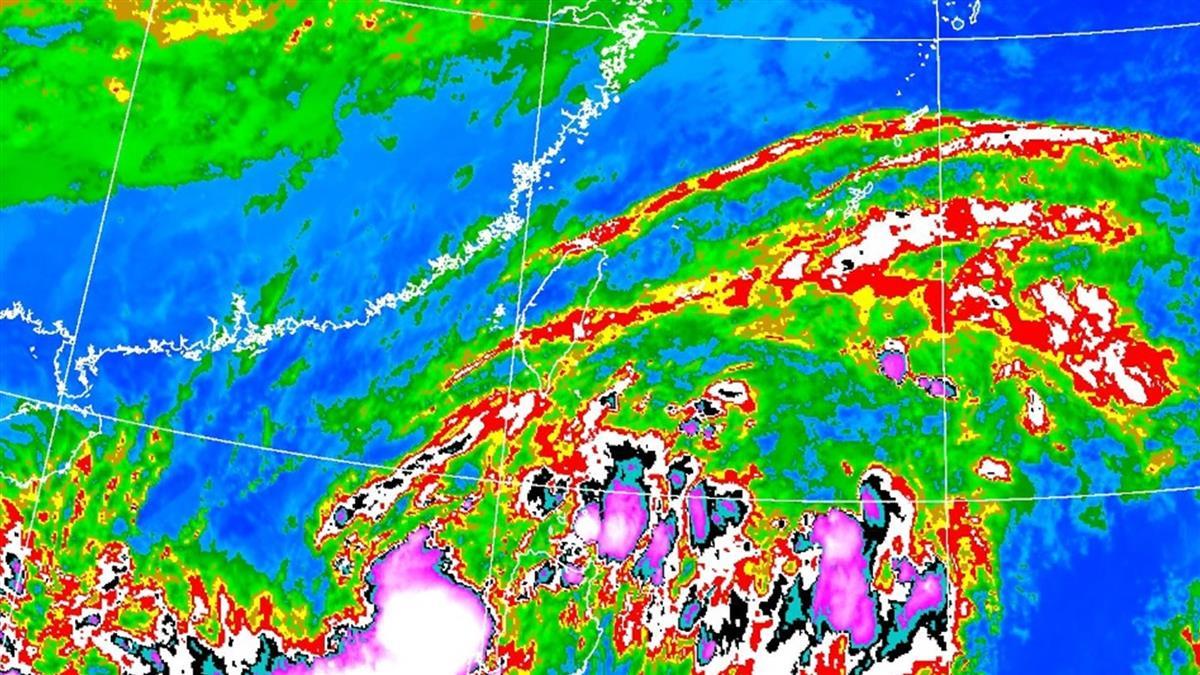 沙德爾恐轉中颱!北北基宜大雨特報 這天是降雨高峰