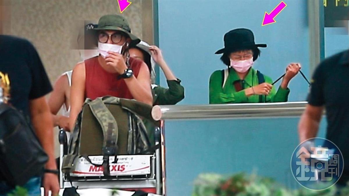 KID、温貞菱爆戀愛ING!節目上曖昧  機場擁抱畫面全被拍