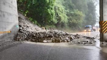 快訊/強降雨影響!蘇花公路觀音段坍方 雙向中斷搶修中