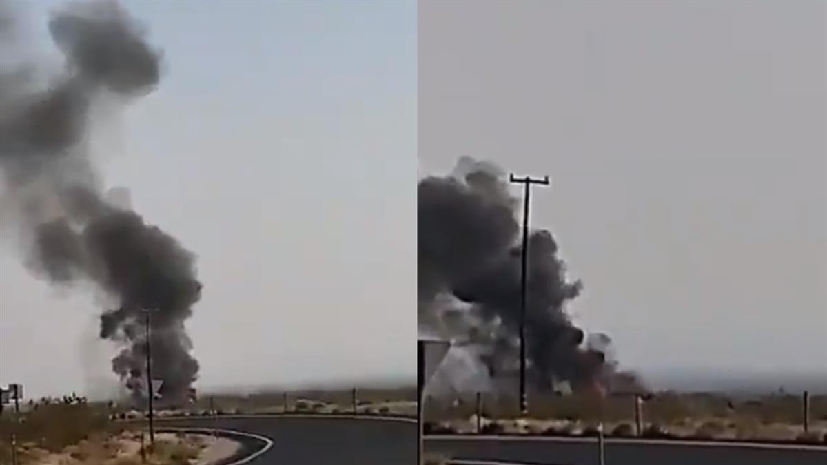 美軍「超級大黃蜂」戰機墜毀 飛行員彈出瞬間畫面曝