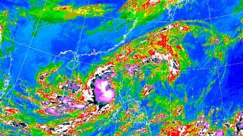 快訊/颱風外圍環流+東北風發威!北北基等7縣市防豪、大雨