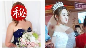 託友人拍婚宴照!國慶新娘看完成品崩潰 對比專業差超大