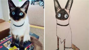 英國父親搞笑寵物「垃圾」作品成網紅 為無家可歸者募捐的故事