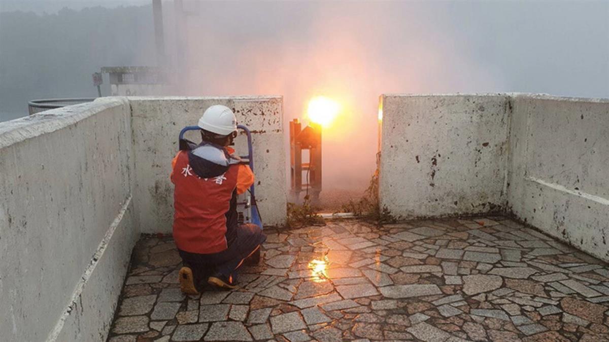 石門水庫啟動人工增雨  蓄水率達46.6%