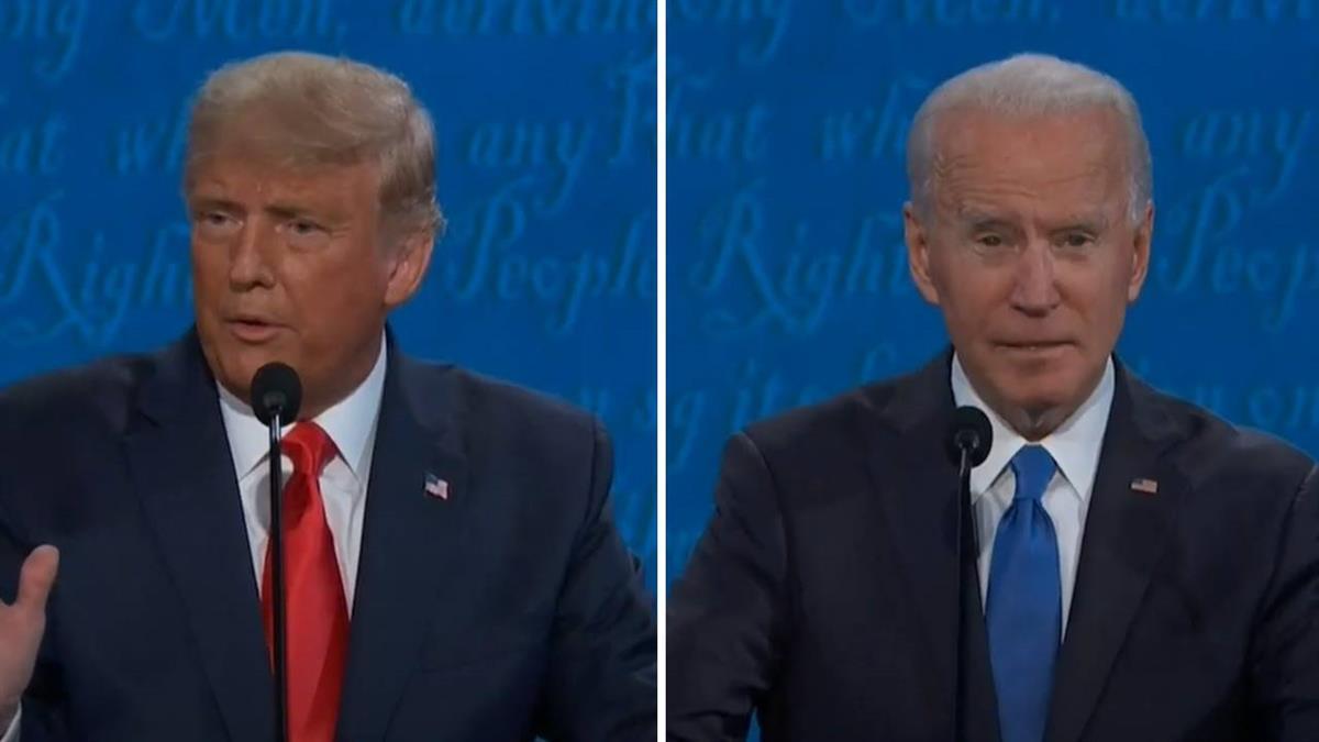 美大選最終辯論會!拜登稱「沒拿過國外資金」 批川普在大陸繳稅