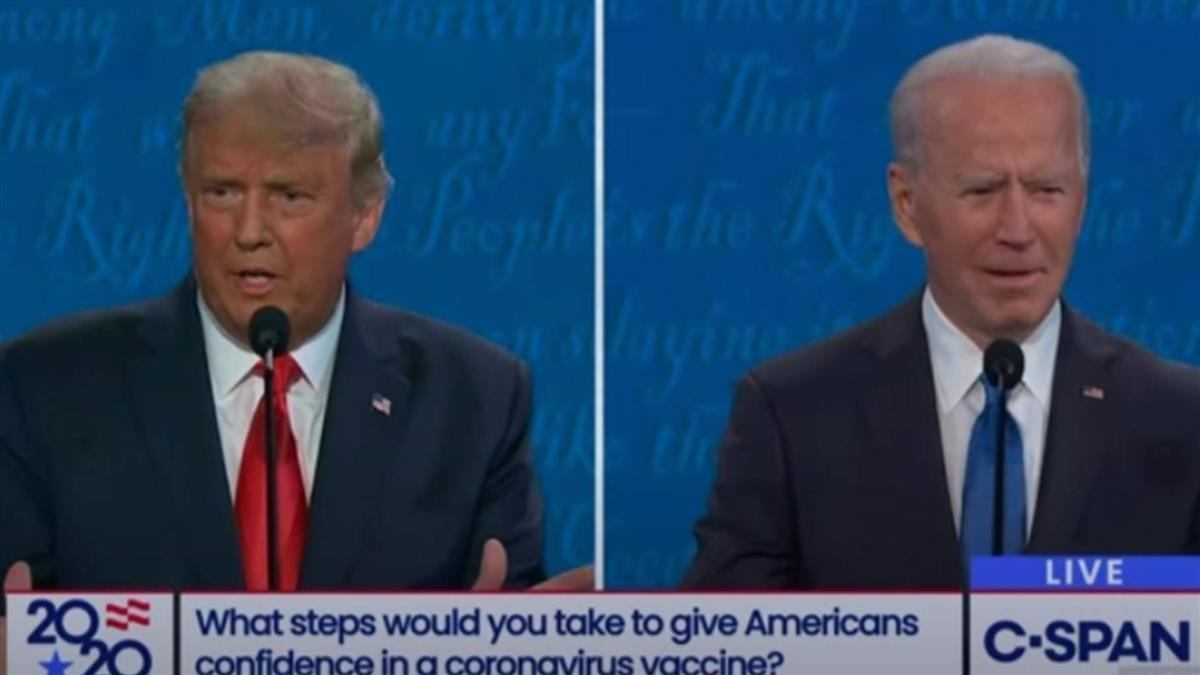 辯論最終場川普超時直接消音 首辯主持人:我很嫉妒