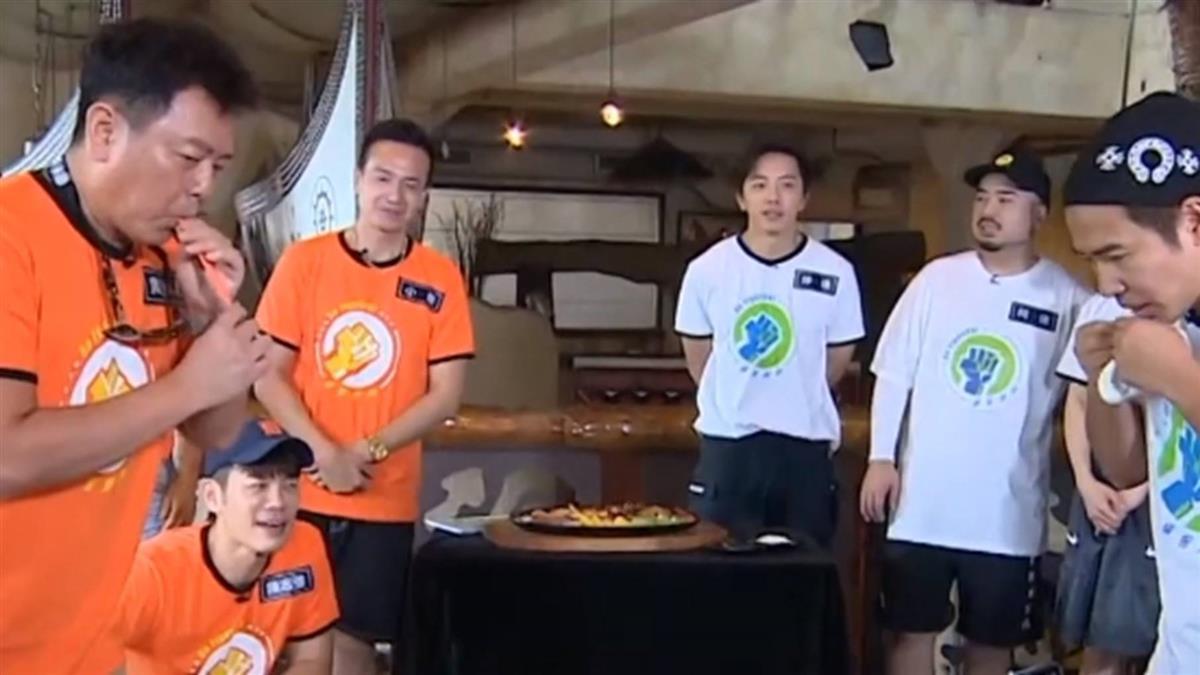 坤達PK陳志強「推頭相撲」 益智節目超緊張逗趣