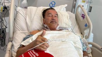 73歲阿諾健康亮紅燈!緊急住院開刀 本人曝最新病況