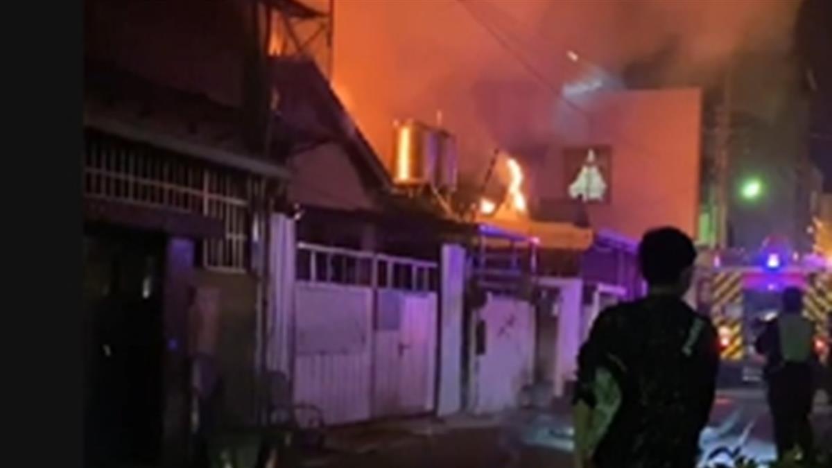 母求救「妹妹還沒出來」 台中深夜惡火噬民宅釀1死2送醫