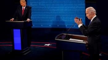 美國大選:川普與拜登辯論,就中國大陸議題針鋒相對
