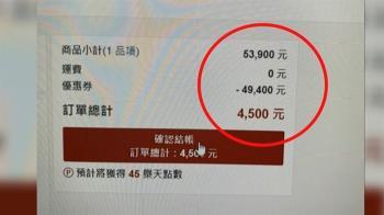 獨/近6萬音響「網標4500元結帳」 樂天市場:調查中