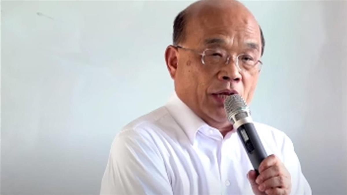 NCC中天換照案聽證會 蘇貞昌:外界不應干涉
