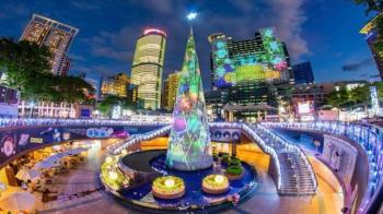 新北歡樂耶誕城開城日揭曉!聯手迪士尼打造「全台唯一光雕秀」