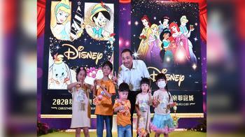 迪士尼6大公主進駐萬坪公園 陪你歡慶耶誕節