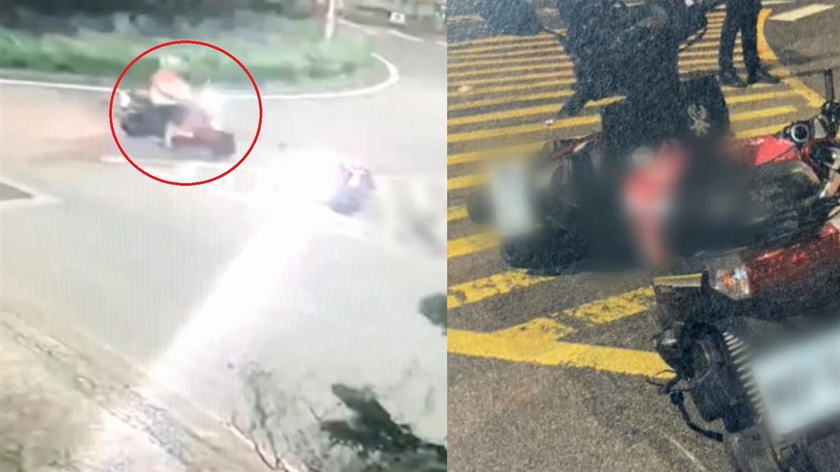獨 / 為多搶單!新北熊貓外送員突迴轉 猛撞19歲女騎士害慘死