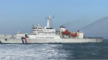 中國船盜採海砂 政院修法最高重罰8000萬關7年