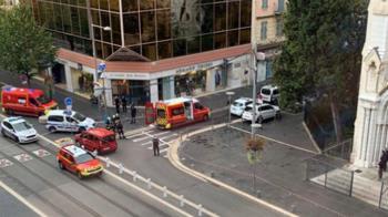法國再傳恐攻!兇嫌教堂持刀殺人 至少2死多人受傷