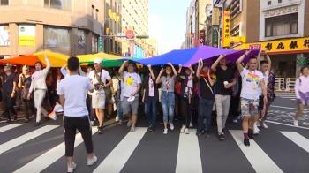 台灣同志遊行31日中午登場 警公布交管路線