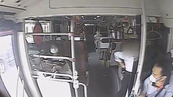 獨/為沒戴好口罩大吵 乘客爆粗口 客運司機喊「叫警察」