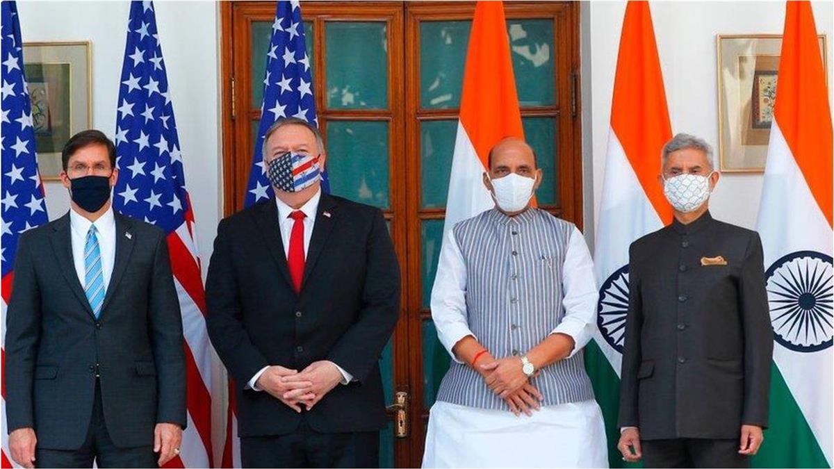 美國大選前與印度簽署軍事協議令中國警惕