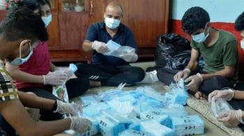 助伊拉克抗疫 外交部響應「娜迪雅倡議」捐10萬片口罩