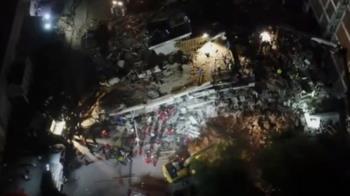 愛琴海7.0強震!釀22死破800傷 慘烈空拍圖曝光:大樓全倒