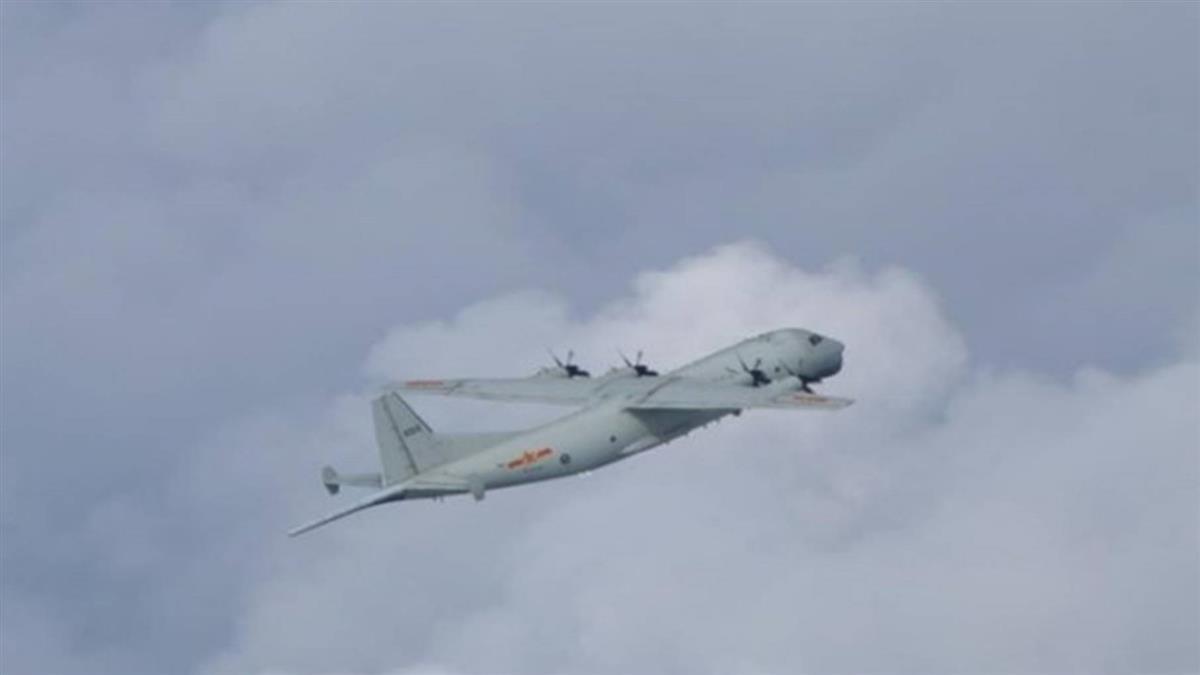 共軍運8反潛機 再闖我西南空域