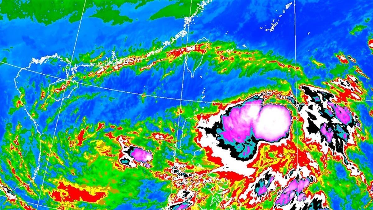 今起越晚越冷!颱風閃電亂飄中 這2天留意外圍水氣