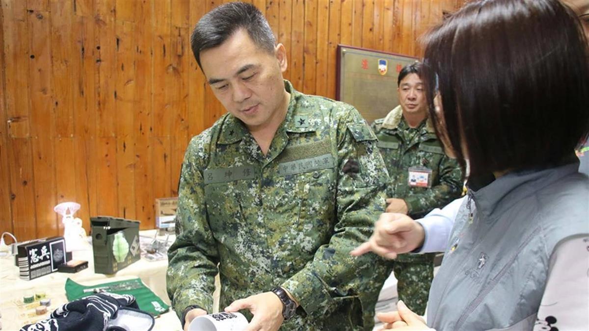 呂坤修接任總統府侍衛長 9日就任