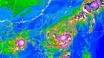 颱風閃電不排除發警報!路徑持續往北修正  這2天離台最近