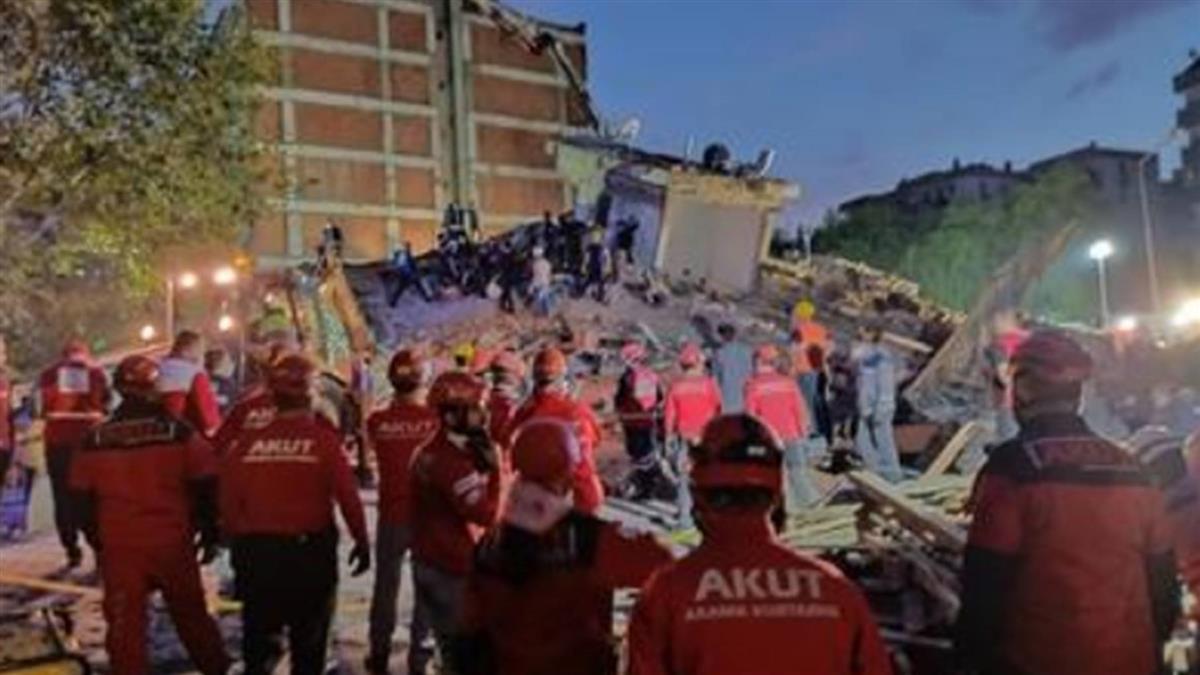愛琴海強震再傳奇蹟 4歲女童困91小時獲救