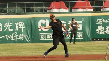 台灣大賽第3戰 獅隊換林祖傑先發守游擊